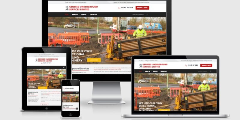 New UK BI DIRECTIONAL DRILLING responsive, mobile device friendly website